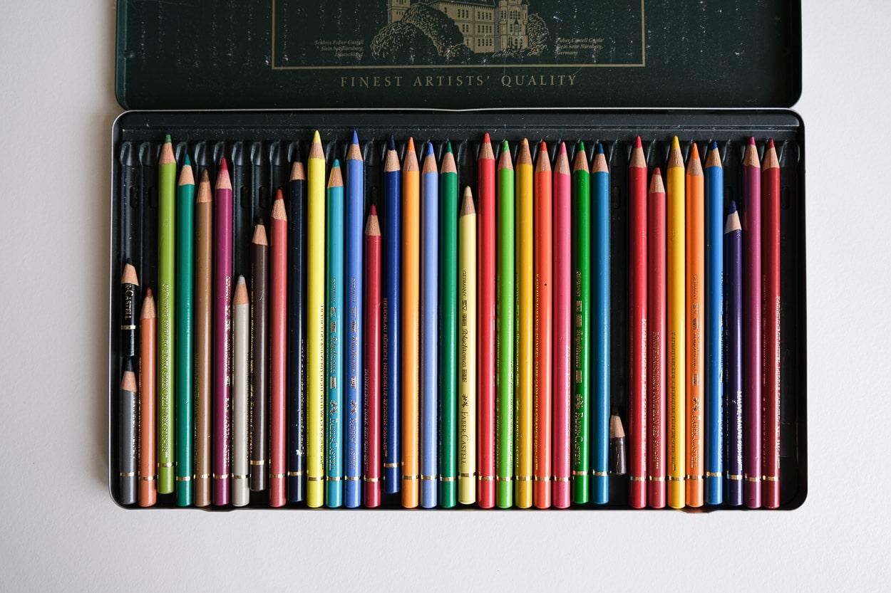 Buntstifte - Hauttöne zeichnen